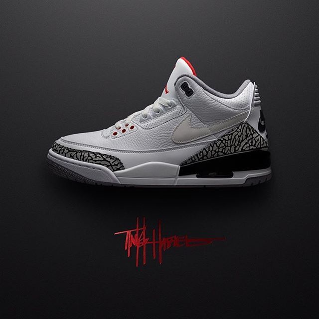 The first release from Justin Timberlake & Tinker Hatfield's JTH Air Jordan  3 collection dropped and
