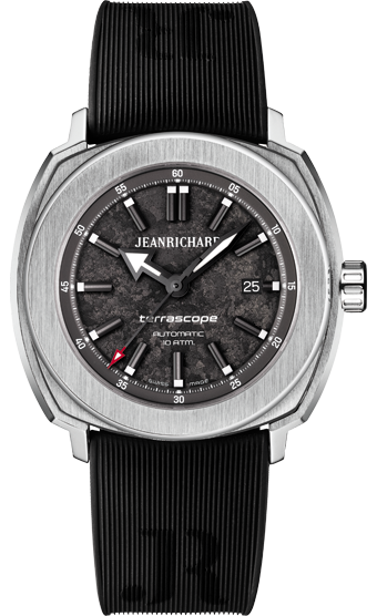 Jean Richard Terrascope Grey Textured Dial Black Rubber Strap #JeanRichard #TerraScope #WatchConnection #Watches #Professional #Ican #DailyWatch #WatchOfTheDay #Inspiration #classy #wristwatch #RealSmartWatch #PhotoOfTheDay #Love #instagood #me #luxury #success #MenWithStyle #WatchPorn #MensFashion #MensWatch #CostaMesa #OrangeCountyCa