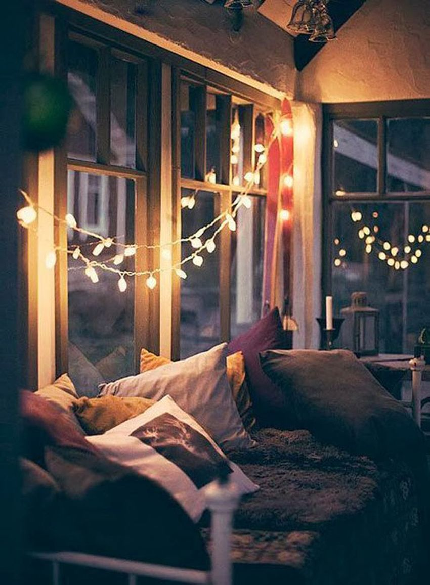 Cozy bedroom at night - Cozy Bed