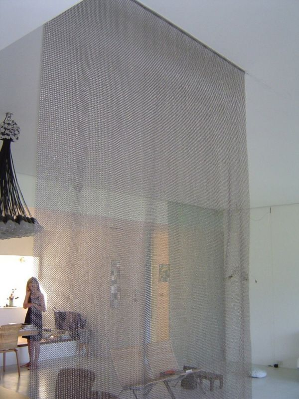 Whiting Davis Mesh Room Divider For A Showroom Designer Springs Global