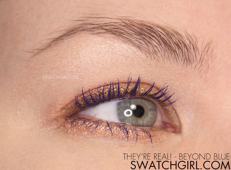 1ec11097a14 Benefit They're Real! Beyond Blue Mascara | Hair&Makeup. | Blue ...