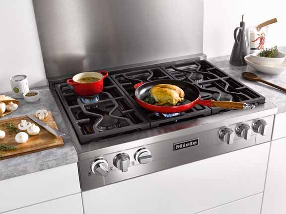 Cook To Perfection With The Miele Kmr1134 Gas Cooktop