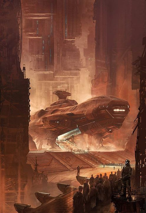 """alienspaceshipcentral:    sciencefictionworld:    Terms of Enlistments"""" by Marc Simonetti.  beautifulwarbirds@gmail.com Twitter: @thomasguettler  Beautiful Warbirds Full Afterburner The Test Pilots P-38 Lightning Nasa History Science Fiction World Fantasy Literature & Art  If you like these posts I think you might like our Youtube Channel if you want more to see Hope you Enjoy"""