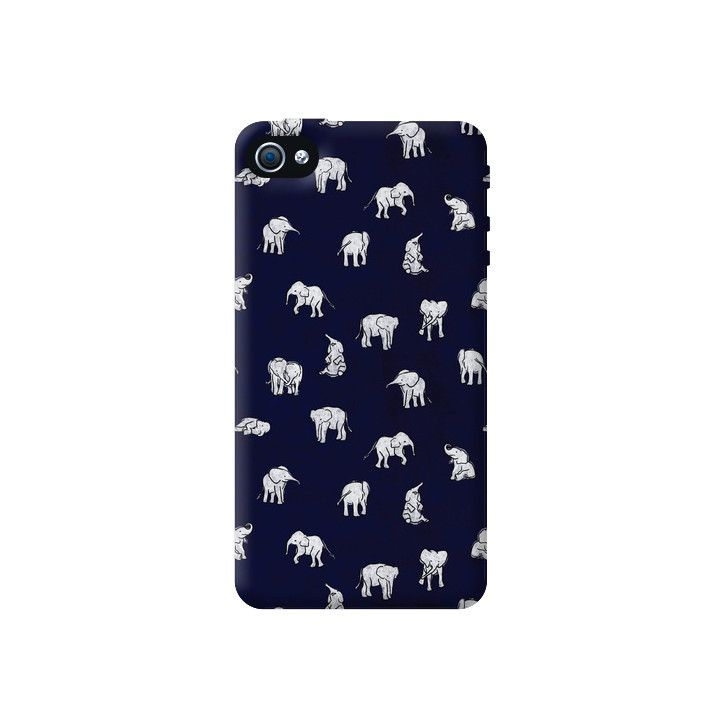 Baby Elephants Apple iPhone 4/4S Case from Cyankart