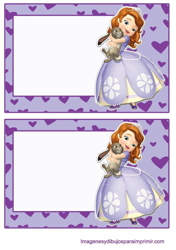 Invitaciones De Princesa Sofia Para Imprimir