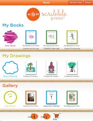 Scribble Press Kids App Storytelling App Learning Apps
