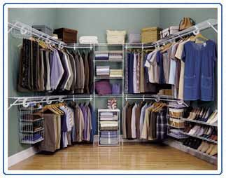 Master Walk In Closet Wire Shelving