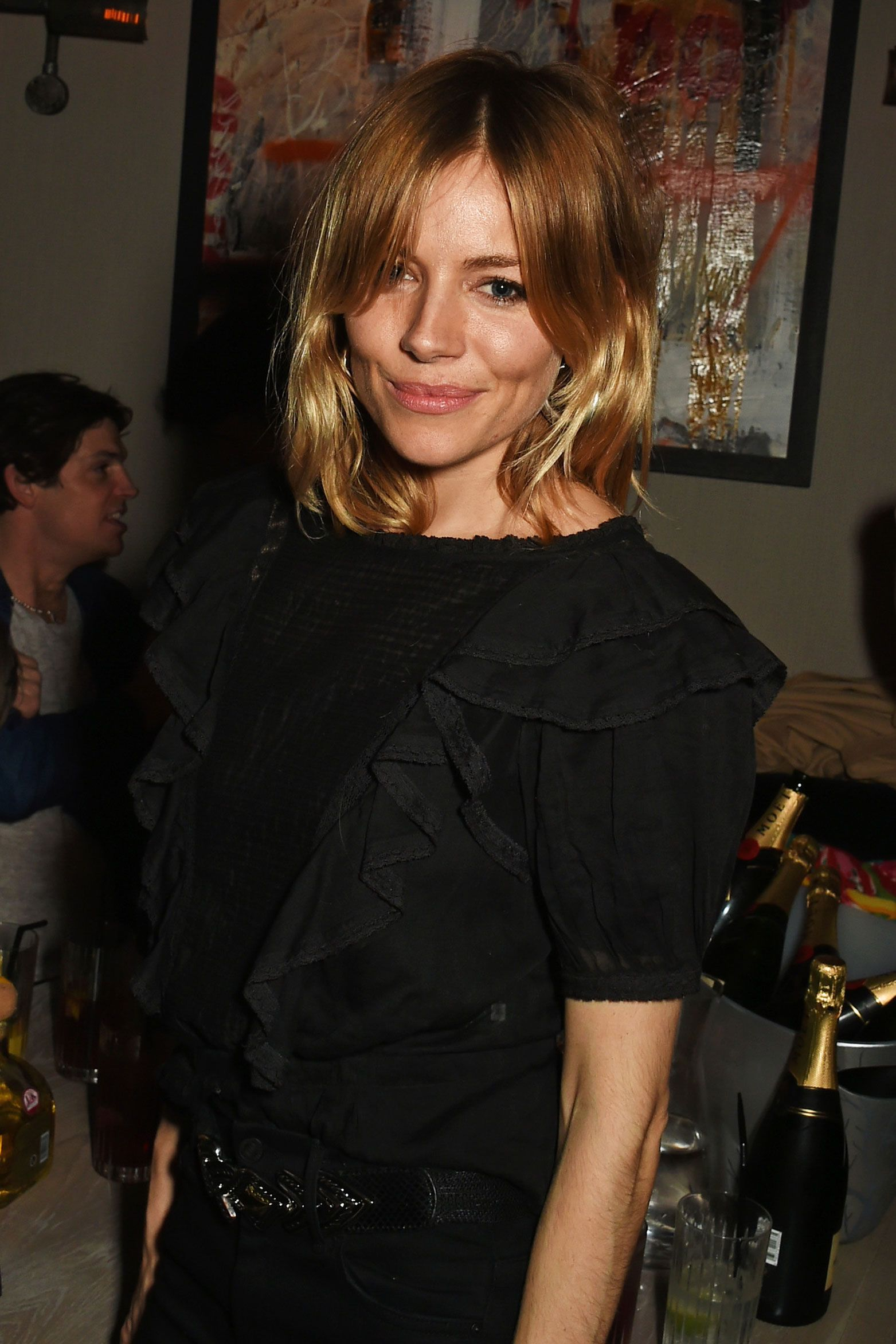 sienna miller steps out in the new hair color of the season