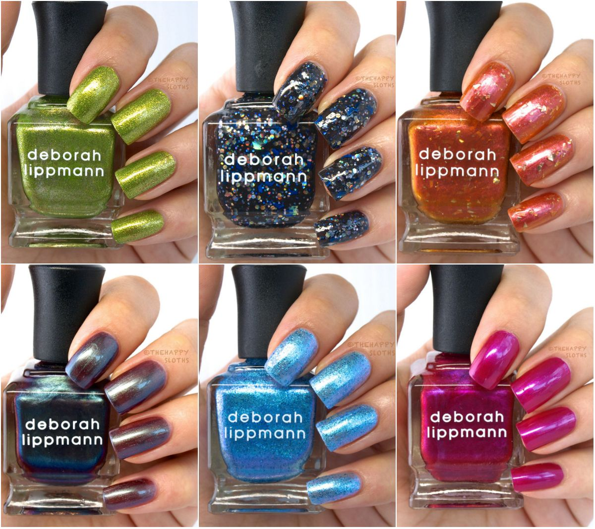 The Happy Sloths: Deborah Lippmann Holiday 2014 Collection: Review ...