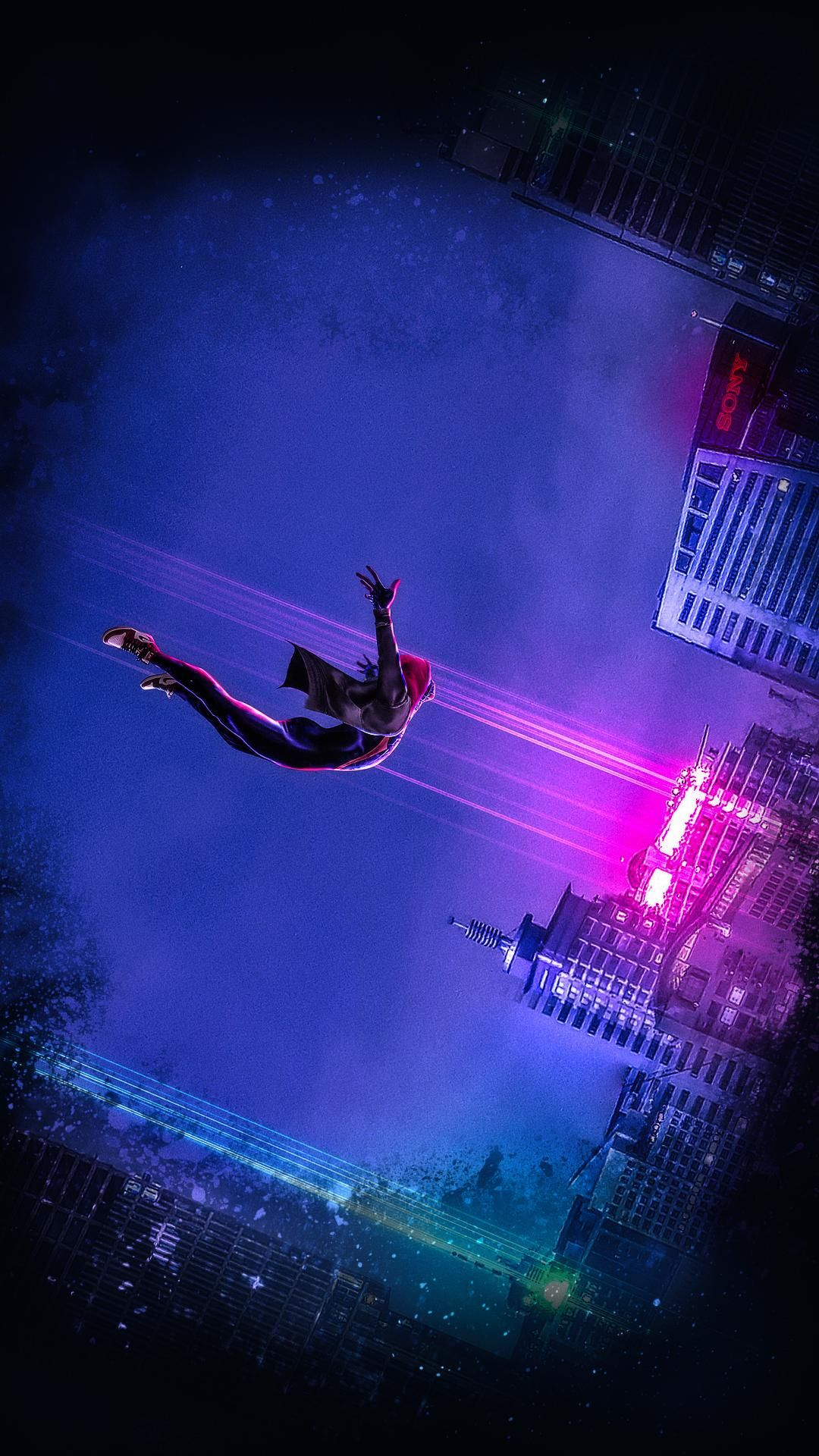 INTO THE SPIDERVERSE Spider verse, Movie wallpapers