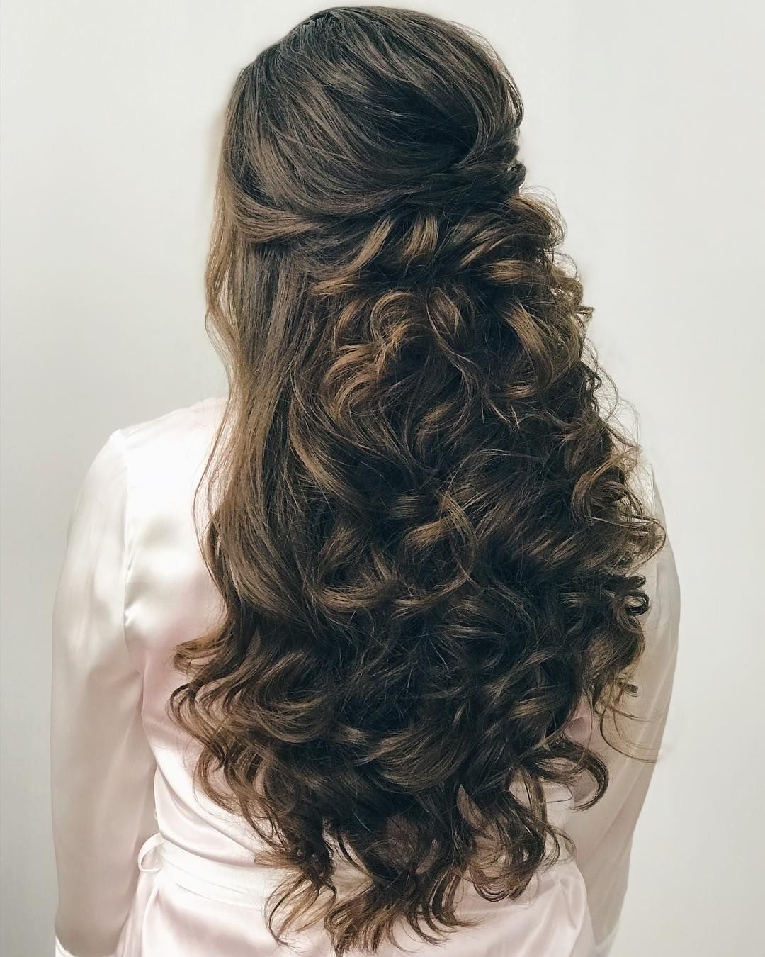 wedding hairstyles ,half up half down hairstyle ,bridal updo