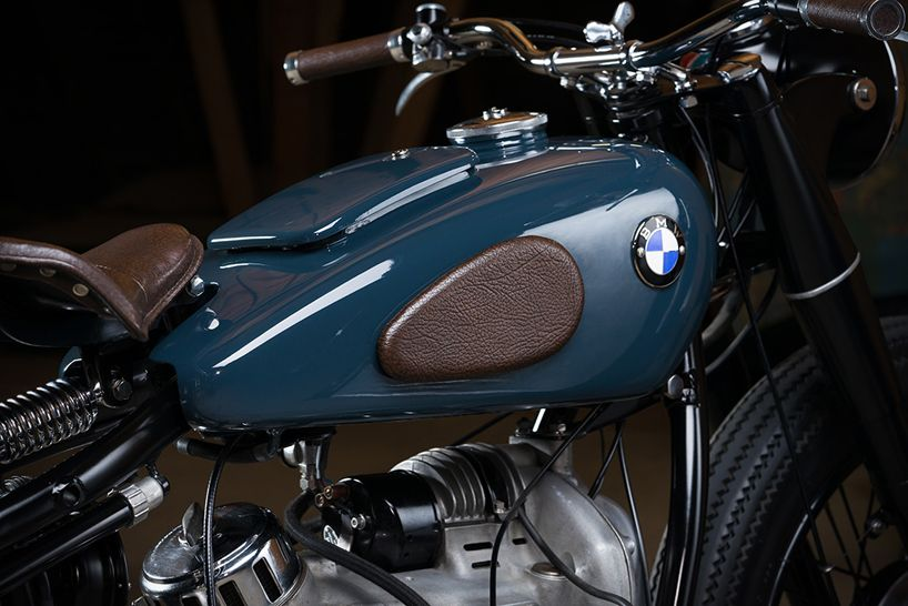 The Bmw R51 2 Custom Motorcycle By Kontrast Kreations Motos