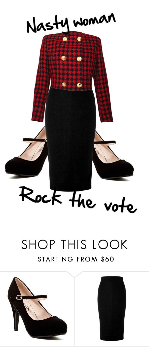 """""""Untitled #16"""" by robynlcoleman ❤ liked on Polyvore featuring Victoria Beckham and Versace"""