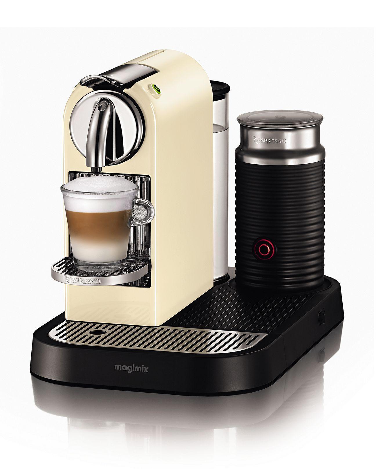 Nespresso D120 Espresso Maker Citiz Single Serve With Milk