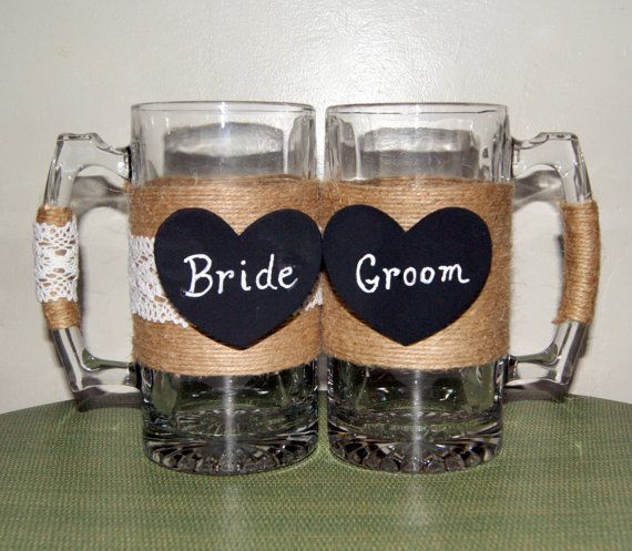 Medieval wedding toasting beer mugs rustic wedding mugs rustic medieval wedding beer toasting mugs by carolesweddingwhimsy this set of medieval wedding decoration ideas junglespirit Choice Image