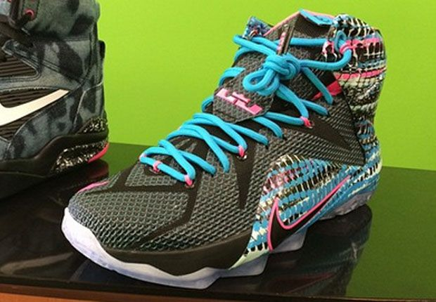 Photos and release date for the Nike LeBron 12 23 Chromosomes, style
