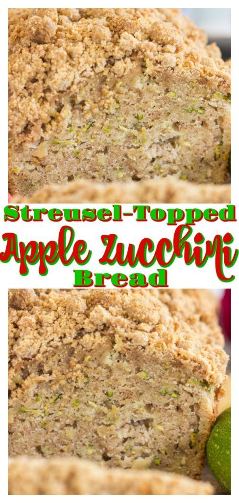 loaded with warm spices and both apple and zucchini shine