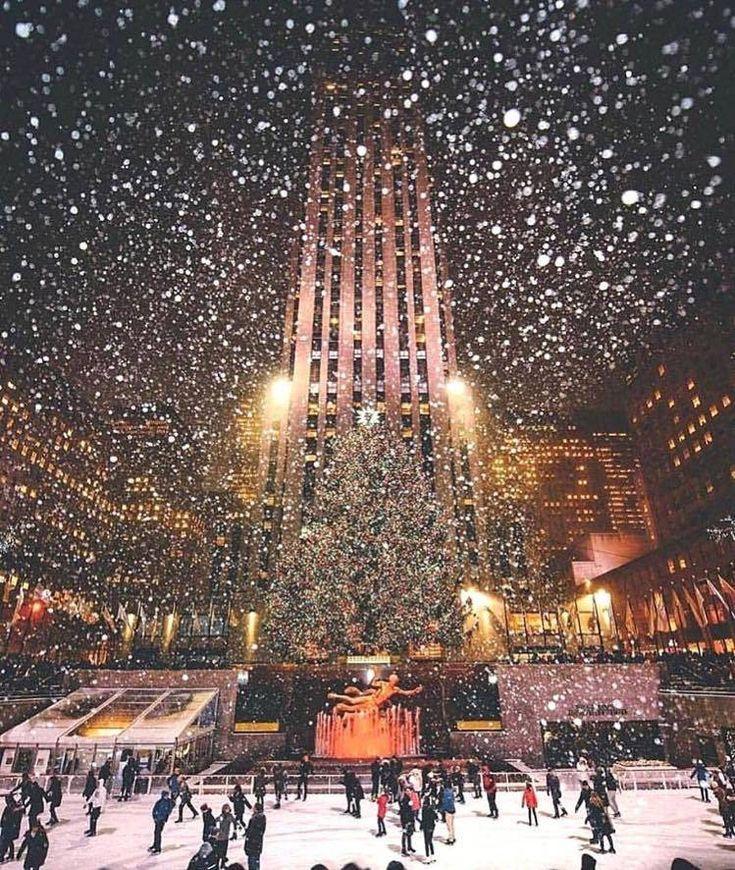 Weihnachtsbaum In New York