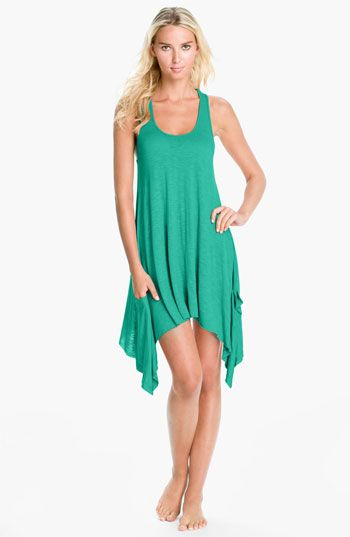 2ffda136c5 Elan 'Handkerchief' Cover-Up Dress available at #Nordstrom | The ...