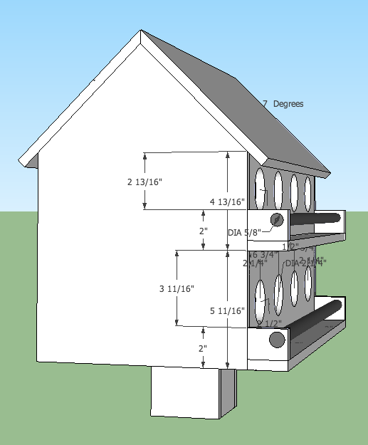 Martin Bird House Plans Birdhouse Pinterest House