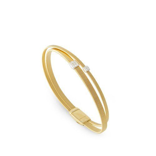 Marco Bicego Masai 18K Yellow Gold 2 Strand Bracelet