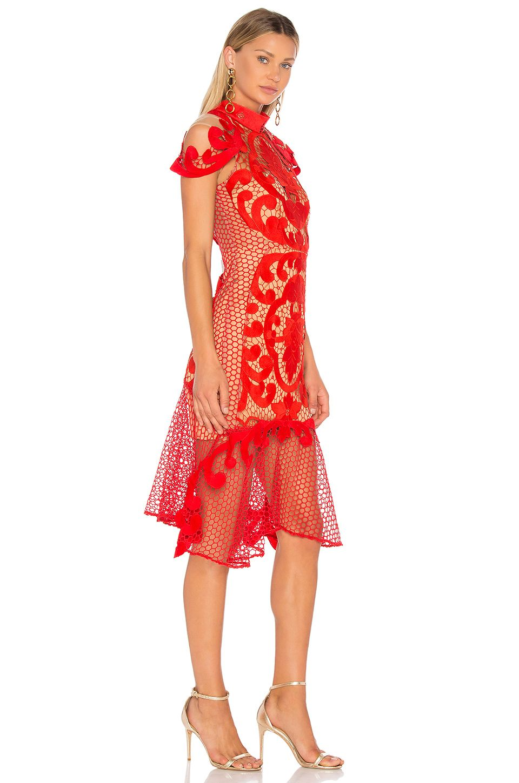 f49406fa77 THURLEY Rose Ceremony Midi Dress in Rose | REVOLVE | menyecske ...