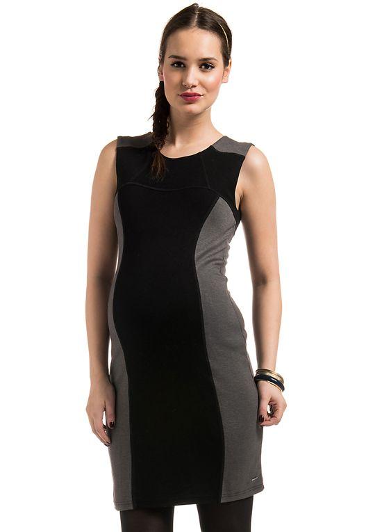 90aff926c652 Sport luxe colour block maternity dress - so chic! | : Autumn ...