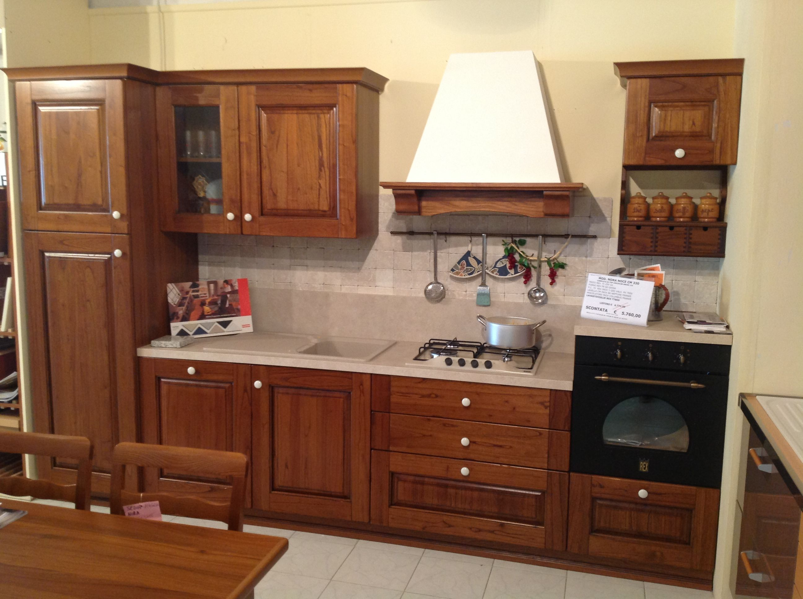 Arrex le cucine propone Nora, una cucina componibile classica in ...
