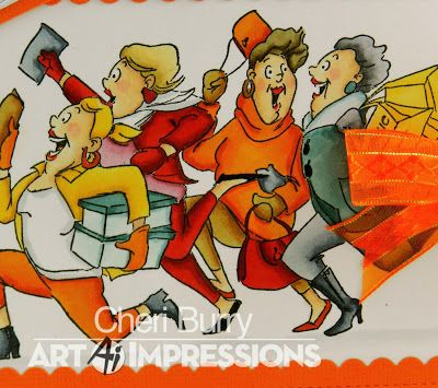 Art Impressions Blog: Shopping Friends!