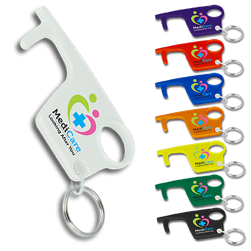 Hygiene Hook Keyring Recycled Plastic in 2020 Recycled