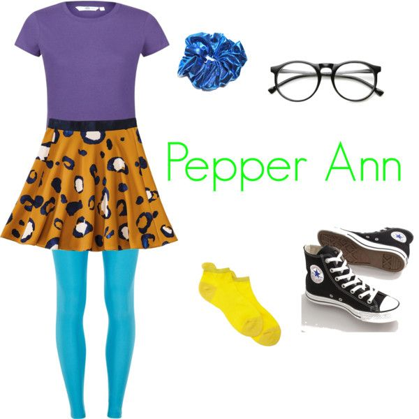 pepper ann costume | Pepper Annu0027 Halloween costume. u0027  sc 1 st  Pinterest & Pepper Annu0027 Halloween costume | DIY Costumes | Pinterest | Pepper ...
