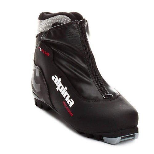 Alpina T Plus CrossCountry Nordic Touring Ski Boots With Zippered - Alpina cross country ski boots