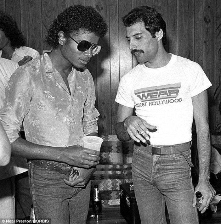 Freddie Mercury&Michael Jackson