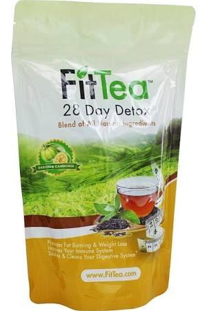 Fit Tea 28 Day Detox Tea, Garcinia Cambogia