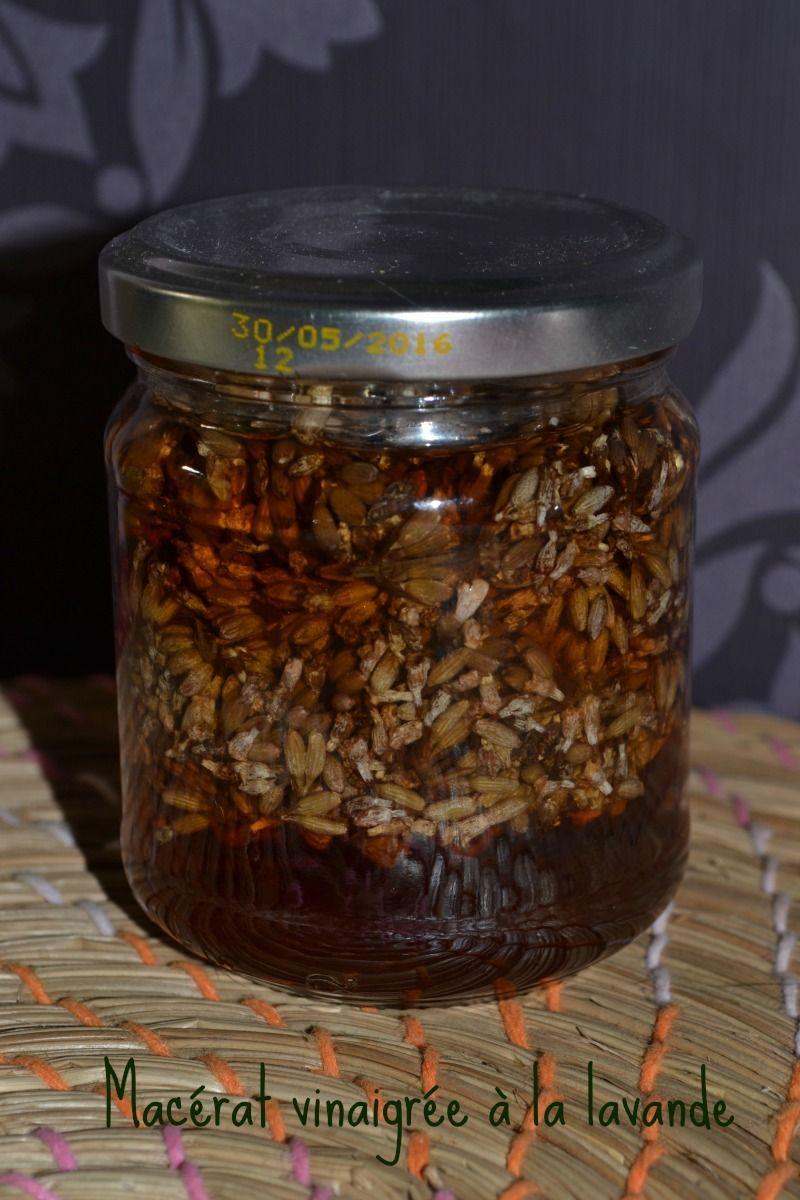 Macérat de vinaigre de lavande - Herbiotiful