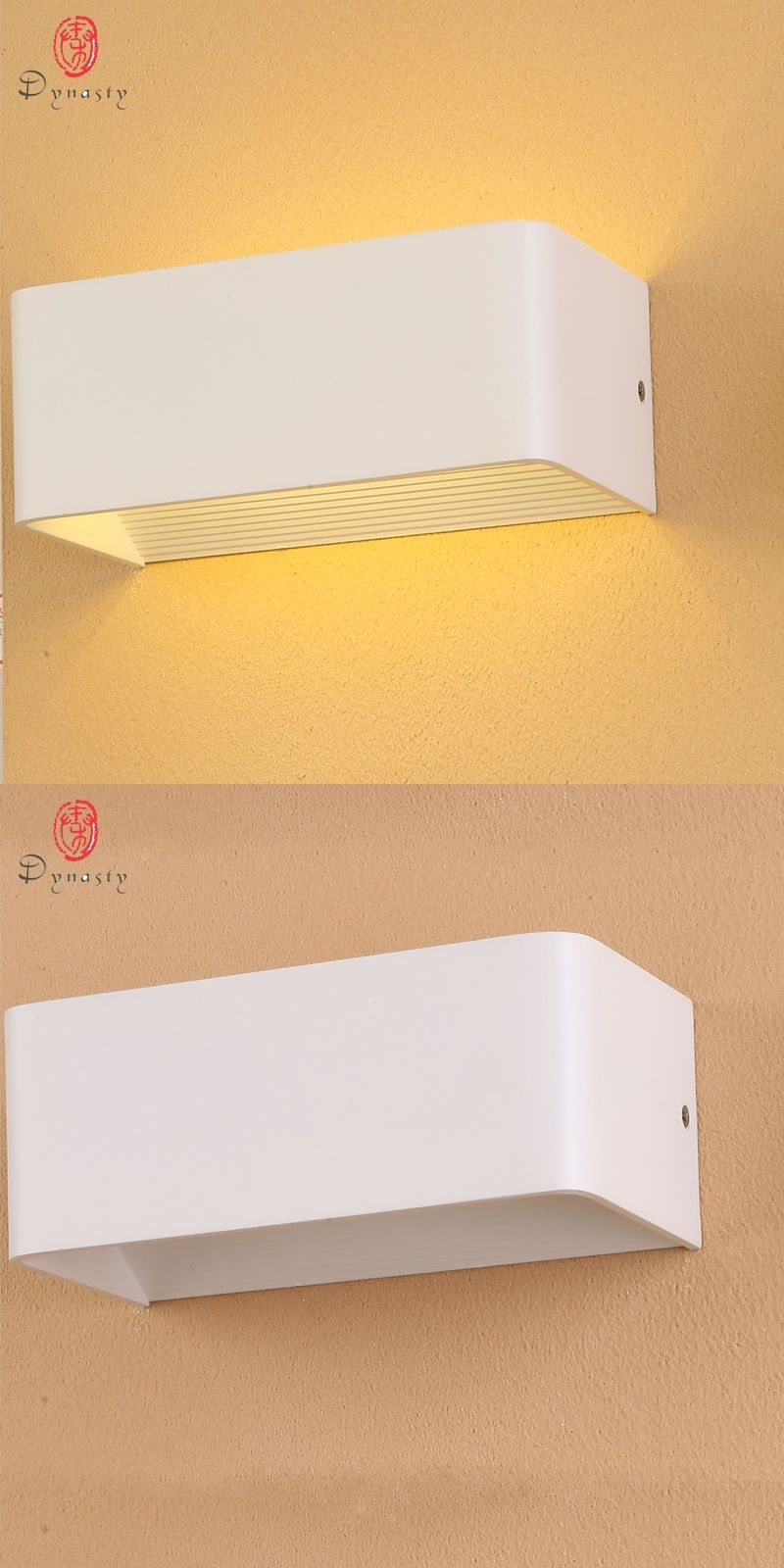 Aluminum Modern LED Wall Lamps 5W Parlor Foyer Bedroom Lounge Cafe ...