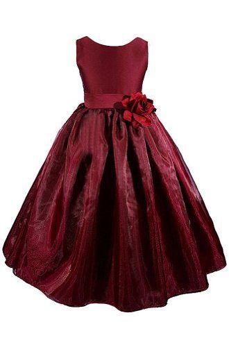 AMJ Dresses Inc Black Princess Flower Girl Pageant Dress