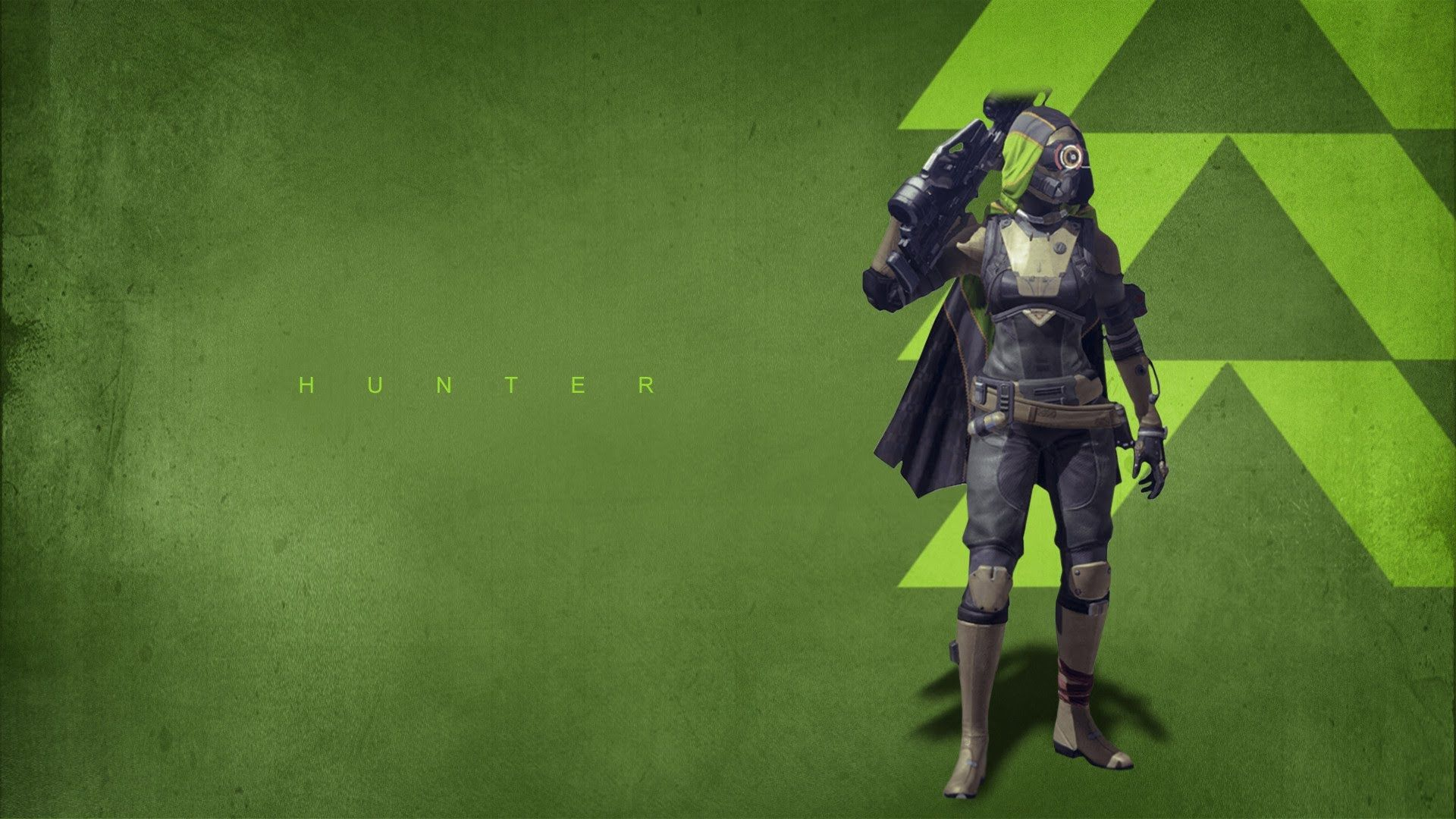Hunter Top FPS Game 2014 Destiny HD Wallpaper Games