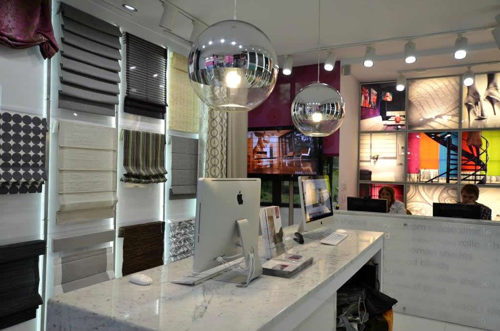 Retail Shop Design Of The Shade Store Showroom In 200 East 59th