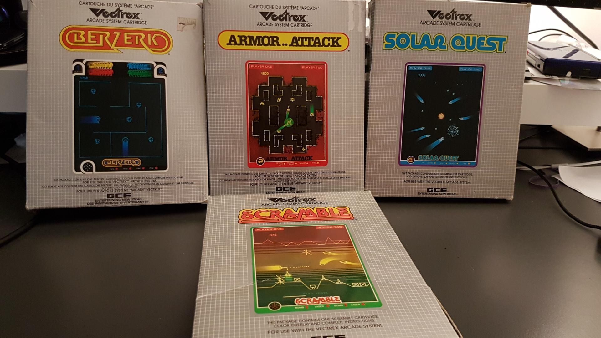 I Had No Games For My New Vectrex Fixed That