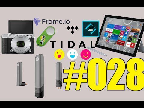#28: Microsoft Surface 3, Nikon 1 J5, Facebook Riff, Asus Chromebit, Amazon Dash Button, Tidal, Adobe Slate,…Les Technos | Les Technos