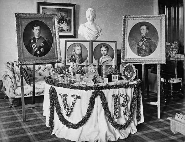 Balmoral Castle Interior Paintings The Queens