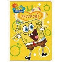 Spongebob Squarepants Passport Cover & ID Holder (YELLOW)