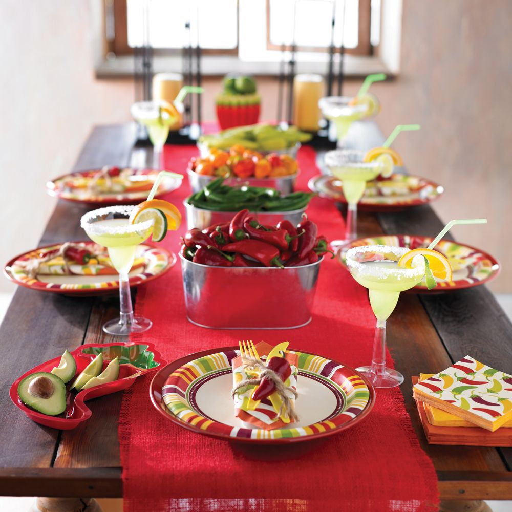 mexican dinner party decorating ideas