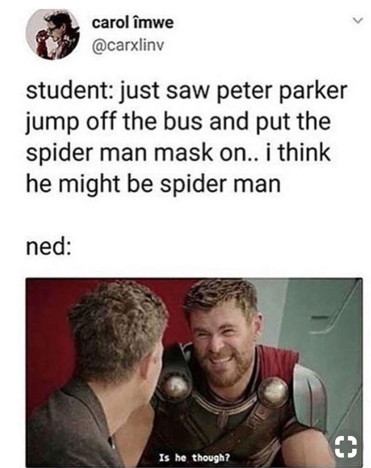 Peter Parker One-Shots - THE ONE SECRET HE KEPT