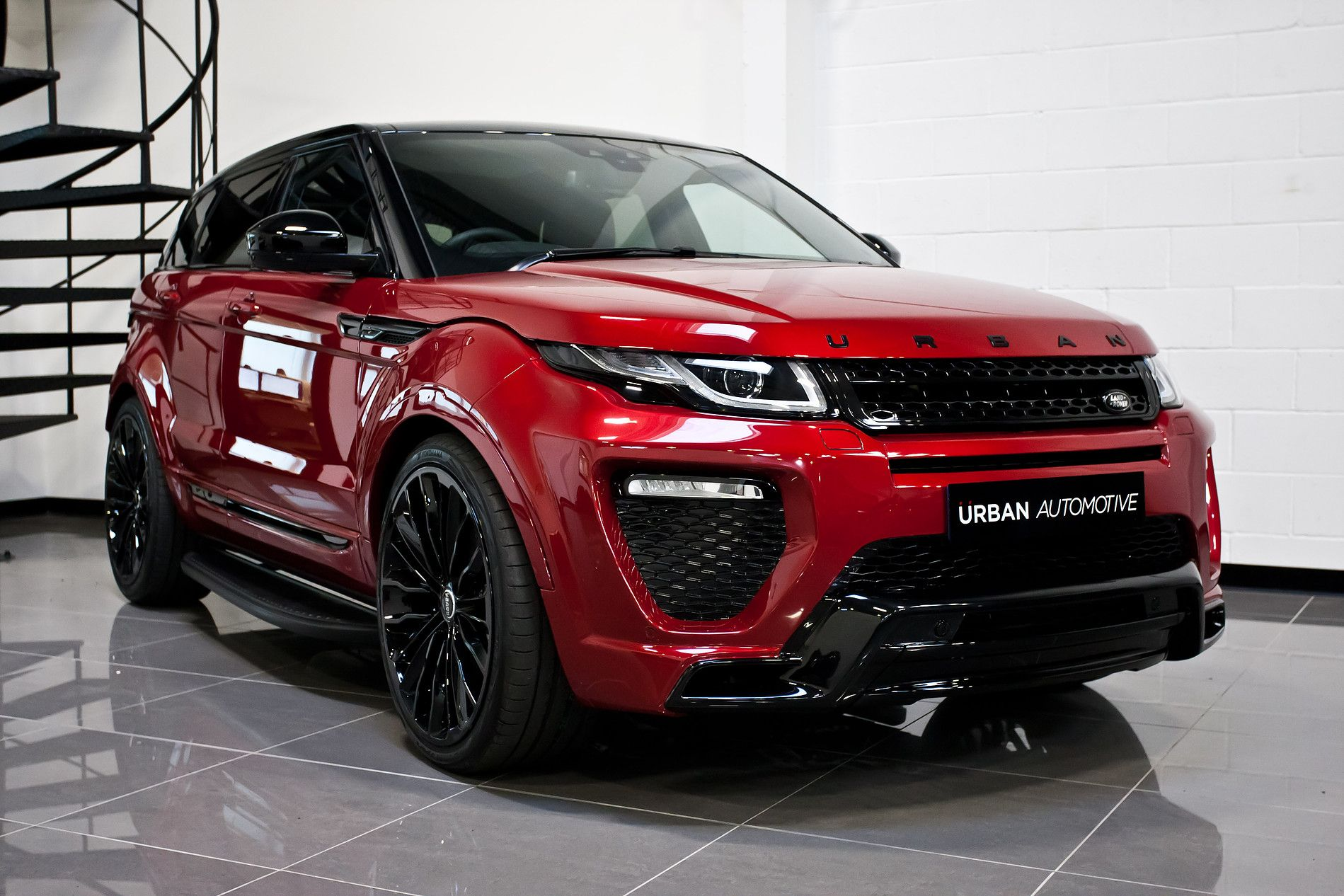 Urban Range Rover Evoque Firenze Red23