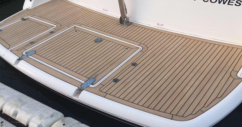 Barefoot Friendly Boat Flooring Ideas Synthetic Yacht Flooring