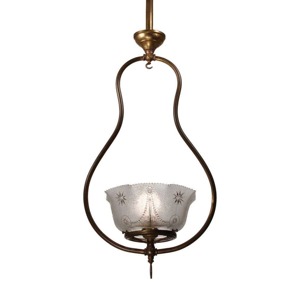 Antique neoclassical gas pendant light late 19th century nc2599 a charming antique one light gas chandelier dating from the and now converted to electricity the fixture begins with an understated canopy arubaitofo Images
