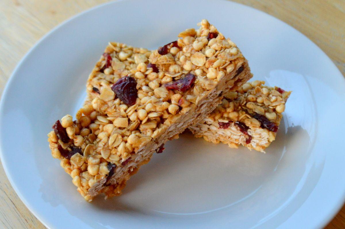 Peanut butter and jelly bars vegan glutenfree food