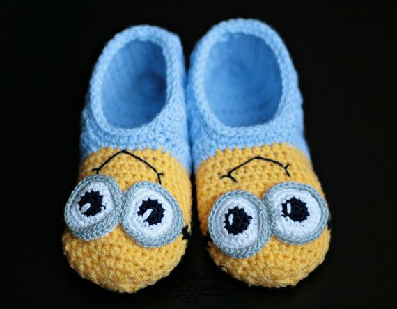 Crochet Pattern Slippers for Kids & Child sizes | PDF File in ...